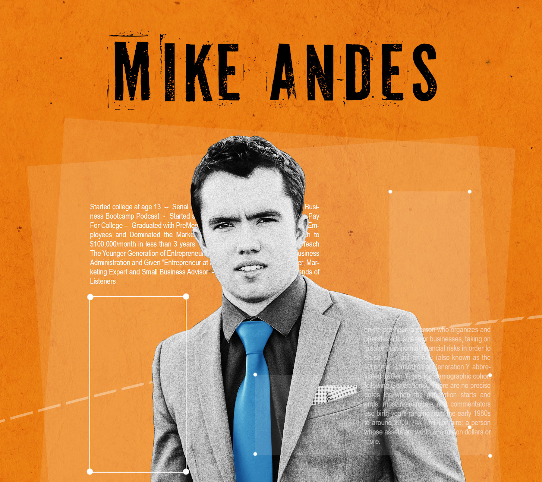 Founder of Business Bootcamp Podcast Mike Andes Book