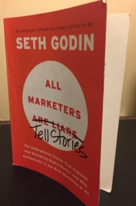 Seth Godin All Marketers are Liars or Tell Stories Book- The Underground Classic That Explains How Marketing Really Works - and Why Authenticity is the Best Marketing of All